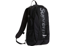 Load image into Gallery viewer, Supreme Backpack Dark Black