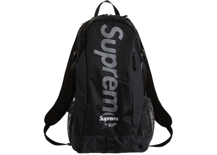 Supreme Backpack Dark Black
