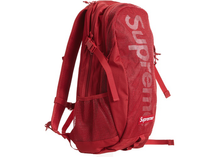 Load image into Gallery viewer, Supreme Backpack Dark Red