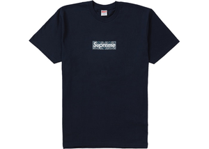 Supreme Bandana Box Logo Tee Light Navy Size M