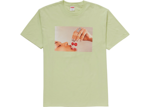 Supreme Cherries Tee Pale Mint Size M