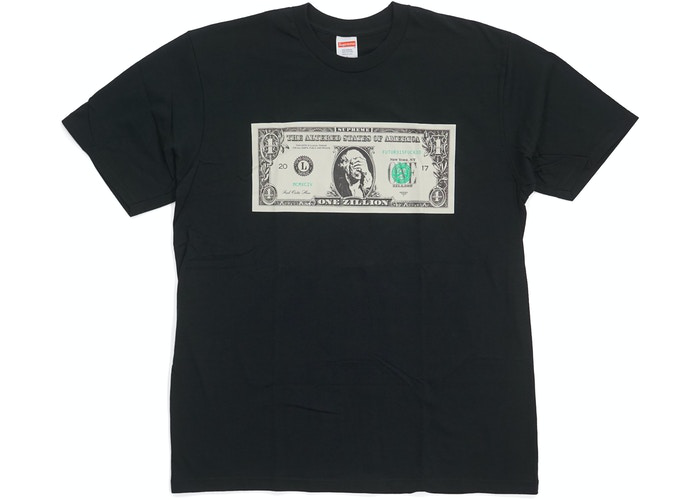 Supreme Dollar Tee Black Size M