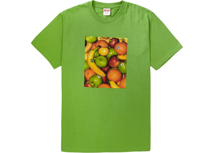 Supreme Fruit Tee Green Size M