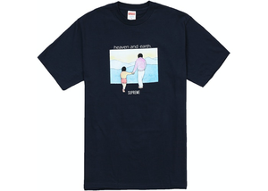 Supreme Heaven And Earth Tee Black Size M