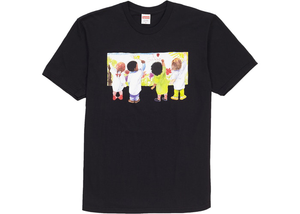 Supreme Kids Tee Black Size M