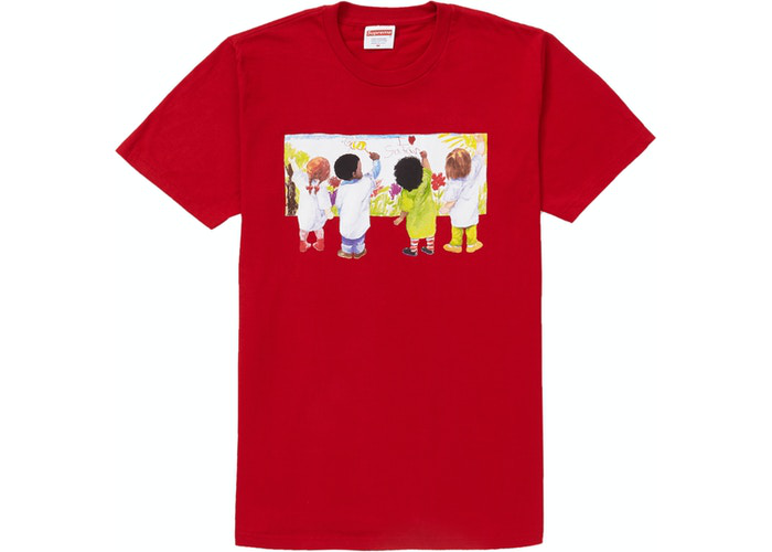 Supreme Kids Tee Red Size M