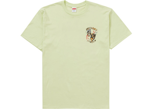 Supreme Laugh Now Tee Lime Size M