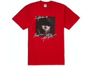 Supreme Mary J. Blige Tee Red Size L