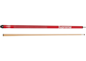 Supreme McDermott Pool Cue Red