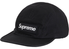 Load image into Gallery viewer, Supreme Military Camp Cap Black