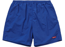 Load image into Gallery viewer, Supreme Nylon Water Short Royal Size M