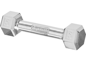 Supreme Plated Dumbbell Silver Plated