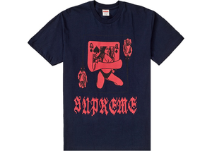 Supreme Queen Tee Navy Size XL