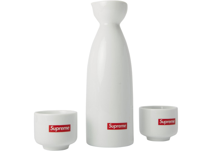 Supreme Sake Set White