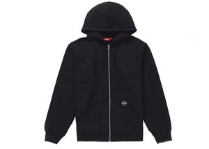 Supreme Star Zip Up Sweatshirt Black Size M