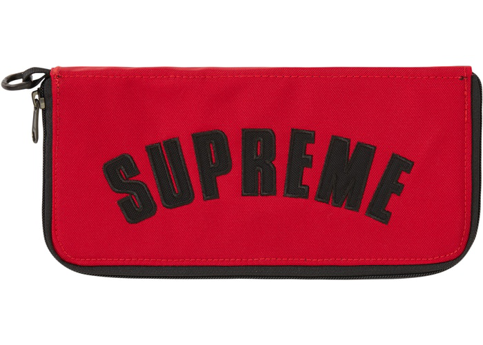 Supreme The North Face Arc Logo Organizer Red