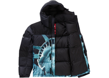 Load image into Gallery viewer, Supreme The North Face Statue of Liberty Baltoro Jacket Black Size S