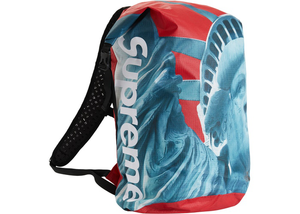 Supreme The North Face Statue of Liberty Waterproof Backpack Red