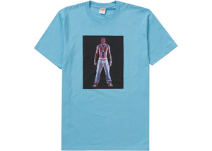Supreme Tupac Hologram Tee Light Slate Size S