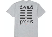 Load image into Gallery viewer, Supreme dead prez Tee Heather Grey Size S