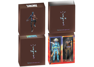 "Travis Scott Cactus Jack Fortnite 12"" Action Figure Duo Set"