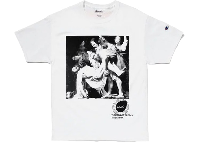 Virgil Abloh x MCA Figures of Speech Pyrex Caravaggio Tee White Size XS