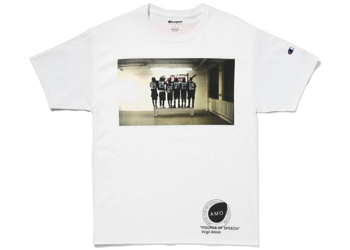 Virgil Abloh x MCA Figures of Speech Pyrex Team Tee White Size L