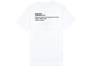 Virgil Abloh x MCA Figures of Speech Pyrex Tee White Size M
