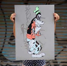 Load image into Gallery viewer, Cote Escriva Creepy Goofy Print