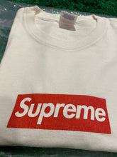 Load image into Gallery viewer, Supreme 20th Anniversary Box Logo Tee White (2014) Size S