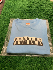 Supreme Predator Box Logo T-shirt Ice Cube 'Fuck All Y'all'Blue (2008) Size XL