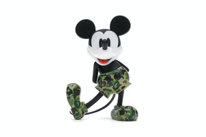 BAPE x Mickey Mouse 90th Anniversary Figure Green Camo