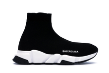 Load image into Gallery viewer, Balenciaga Speed Graffiti Trainers Black / White Size 10 US / 40 EUR