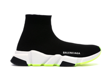 Load image into Gallery viewer, Balenciaga Speed Graffiti Trainers White / Black Neon Multi Sizes