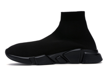 Load image into Gallery viewer, Balenciaga Speed Graffiti Trainers Black Multi Sizes