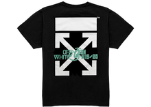 Load image into Gallery viewer, OFF-WHITE Waterfall T-Shirt Black/Multicolor Size M