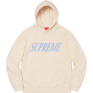 Supreme Crossover Hooded Sweatshirt Natural Size XL