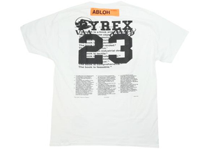 Virgil Abloh x MCA Figures of Speech Pyrex Team Tee White Size S