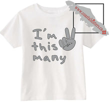 Load image into Gallery viewer, Toddler Short-Sleeve T-Shirt....This Many