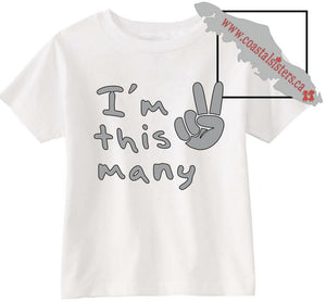 Toddler Short-Sleeve T-Shirt....This Many