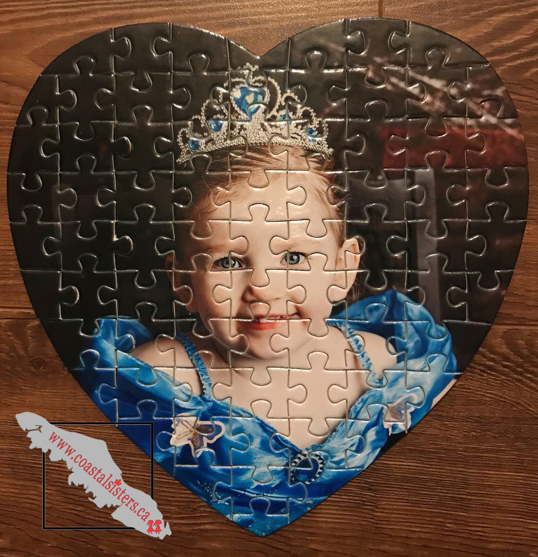 Heart Photo Puzzle