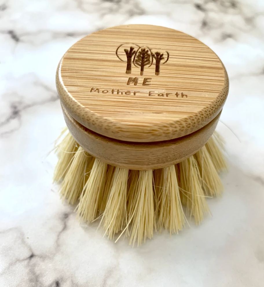 Beechwood & Sisal Fiber Kitchen Dish Brush