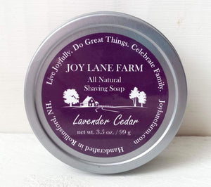 Lavender Cedar Shaving Soap