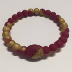 Trendy Rugby Ball Bracelet