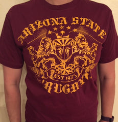 Arizona Rugby Crest T