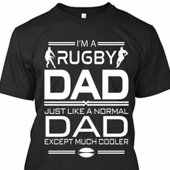 Men's Rugby Dad T Shirt
