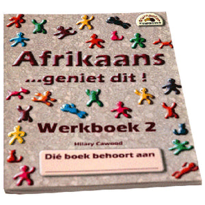 Book, Afrikaans, Geniet dit, Werkboek 2 Second language