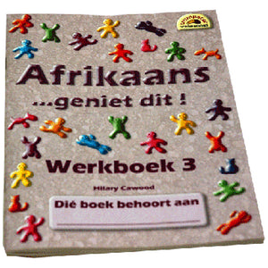 Book, Afrikaans, Geniet dit, Werkboek 3 Second language
