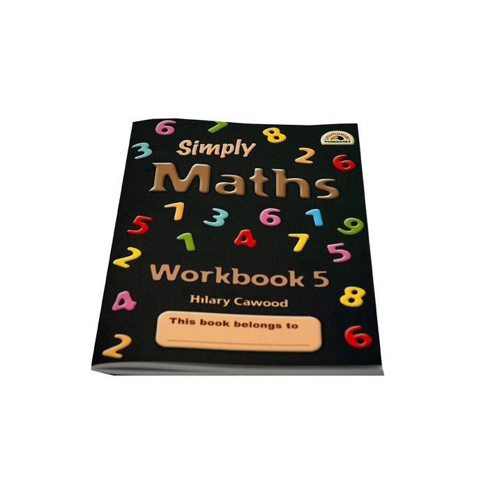 Book, Simply Maths, Workbook 5