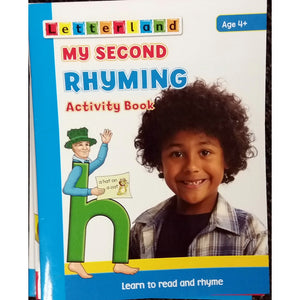 Letterland, My second rhyming activity book
